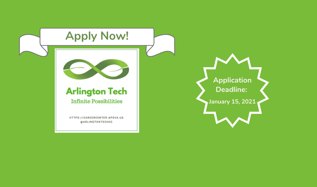 Apply to Arlington Tech Today