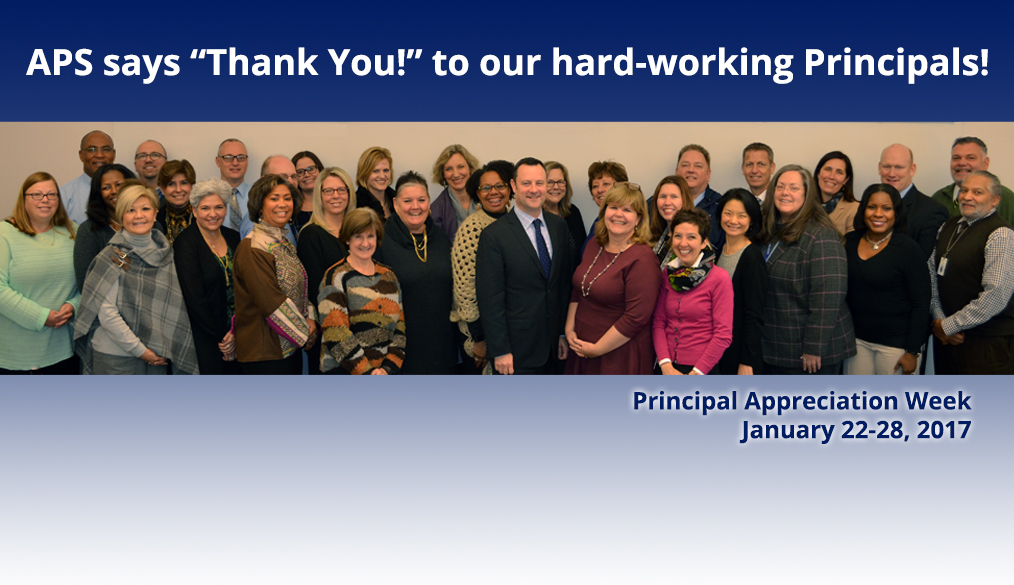 Help us Celebrate Principal Appreciation Week