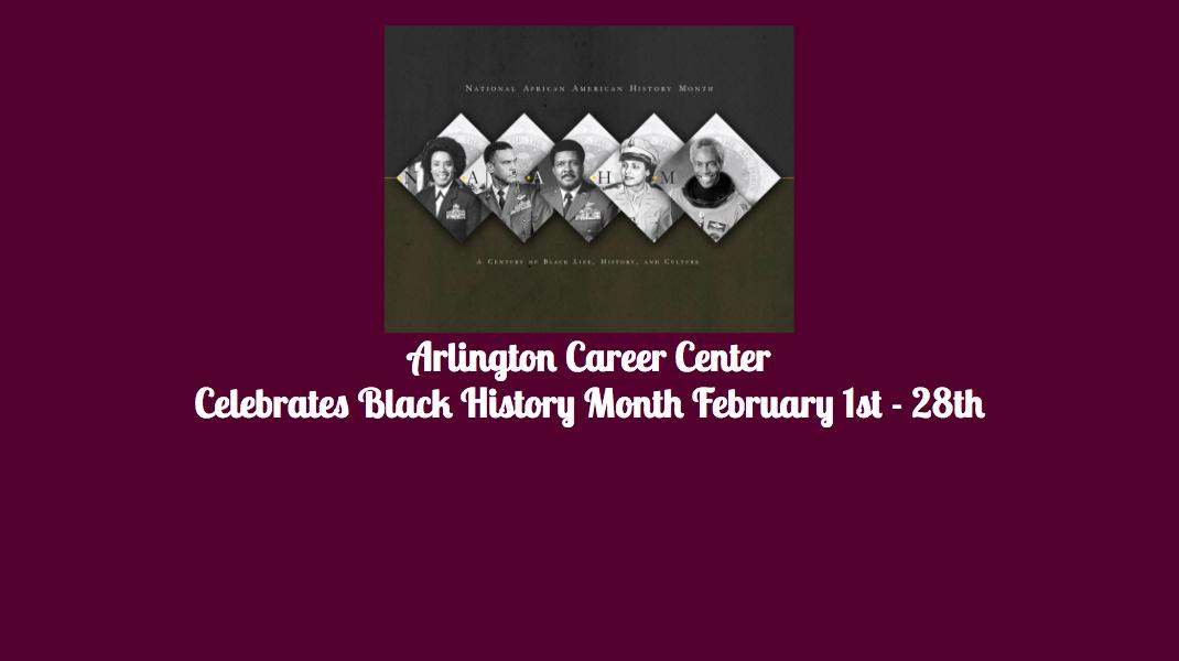 Career Center Celebrates Black History Month
