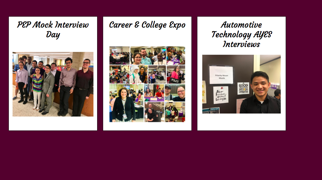 Career Center Students Prepare for Transitions