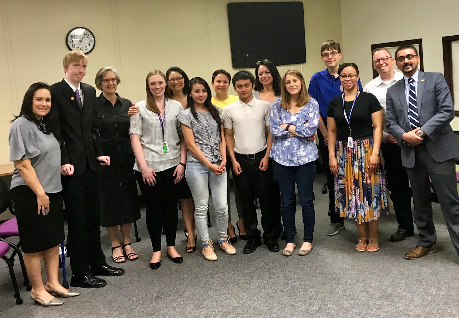 VA Secretary of Education Visits the Career Center