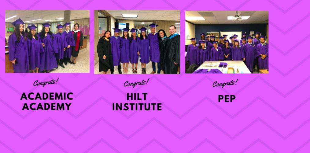 Congratulations to the Career Center Class of 2018!