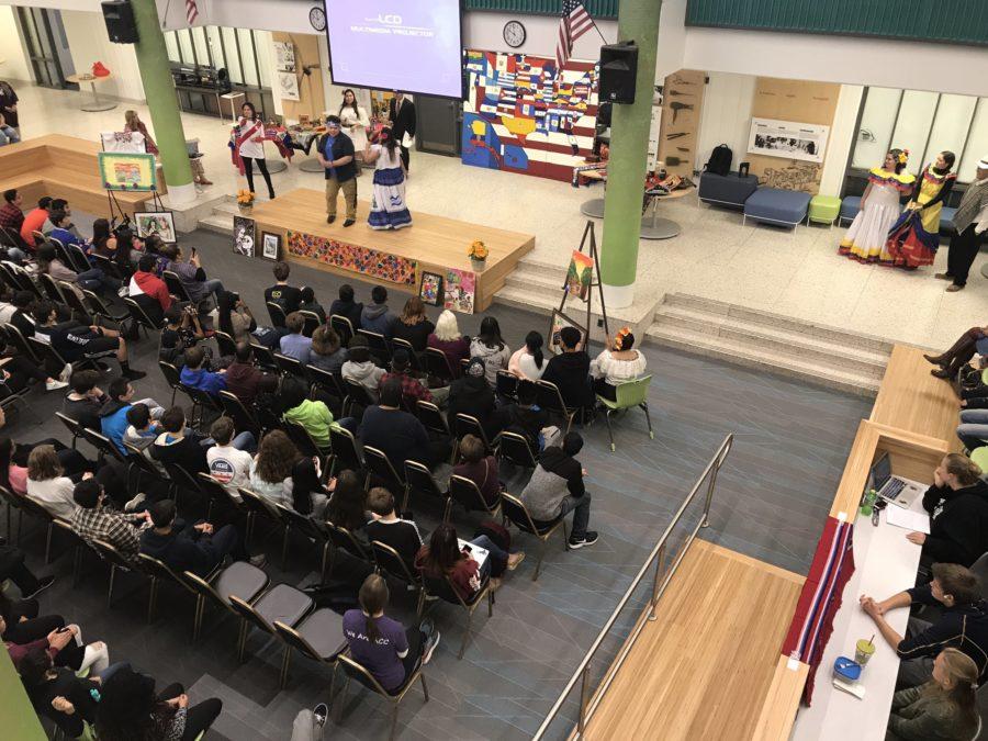 Hispanic Heritage assembly