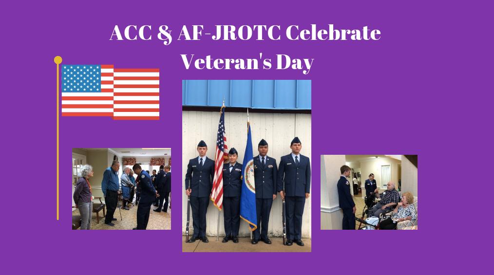 ACC & AFJROTC Celebrate Veteran's Day