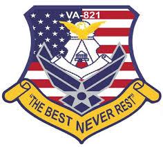 AFJROTC unit VA 821 badge