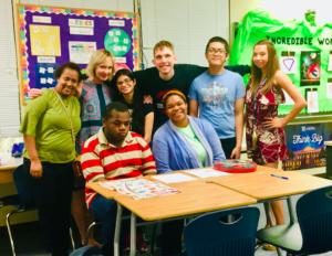 Foto da sala de aula da Sra. Kirsch