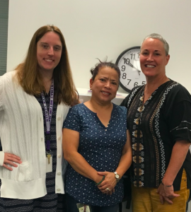 photo of Ms. Vincent, Ms. Labrador, and Ms. Hill