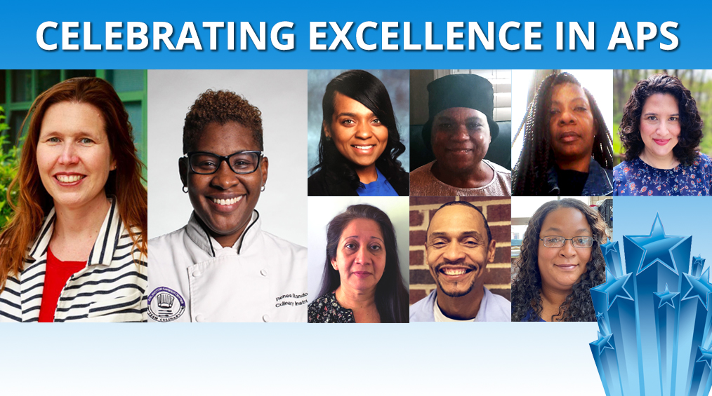 Congratulations, Chef Randolph, APS Teacher of the Year and ACC Support Employees of the Year!