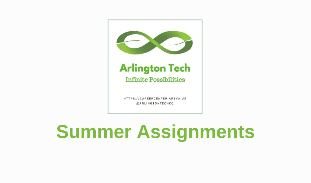 Arlington Tech 夏季作业