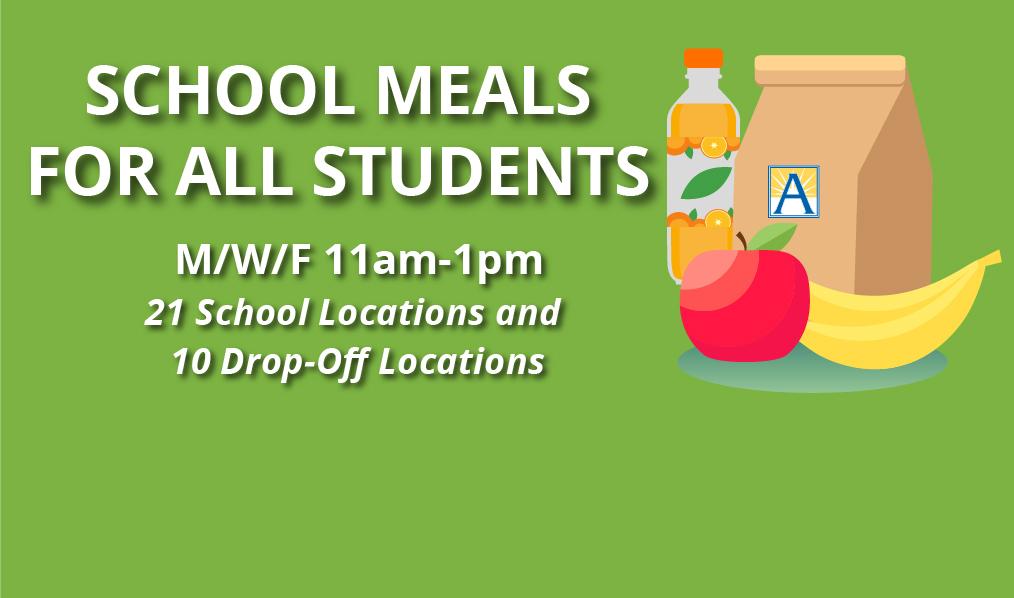 2020-21 تک اسکول کے کھانے کے بارے میں معلوم کریں