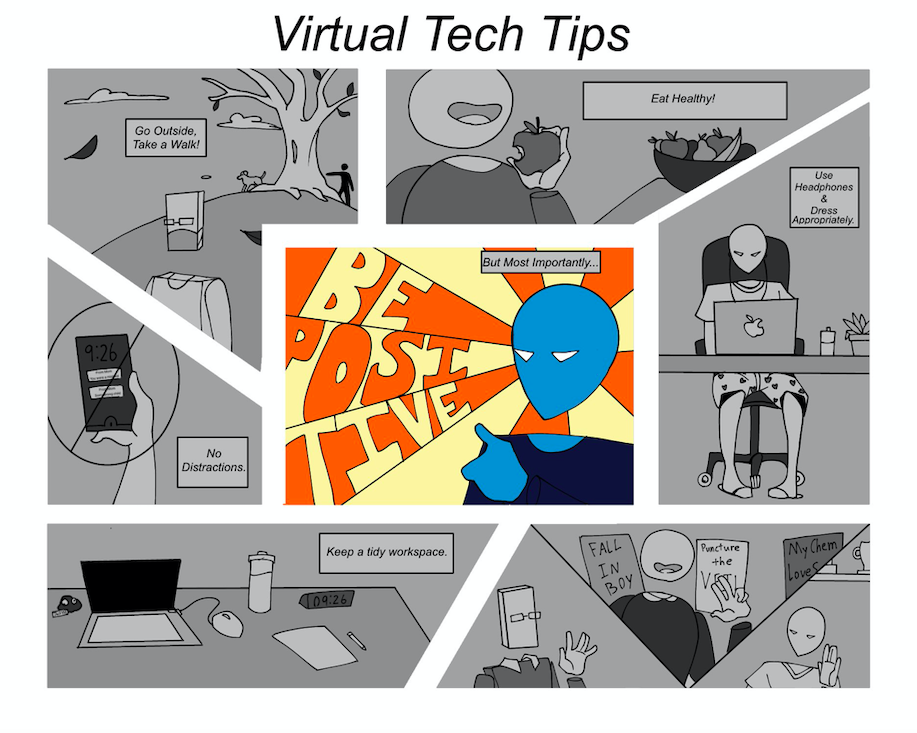 The red team's virtual tech tips design